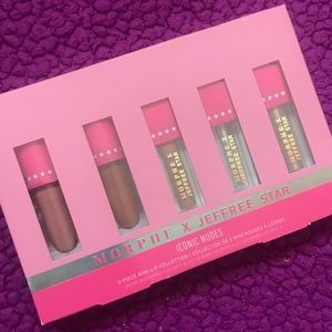 NEW Morphe X Jeffree Star Lipsticks (Iconic Nudes)